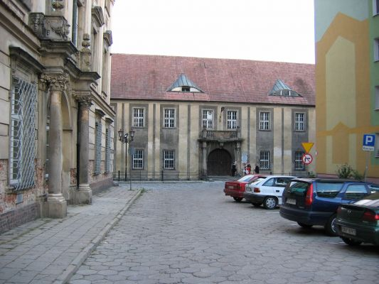 Nysa - pałac biskupi, okolice