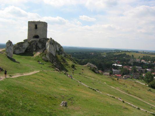 Olsztyn - widok z wieży