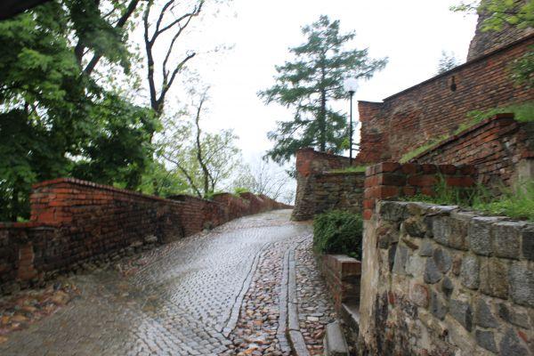 Otmuchów - droga na zamek