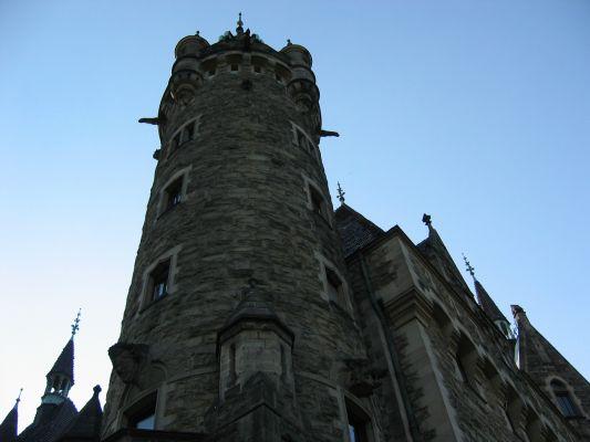 Pałac w Mosznej, największa wieża