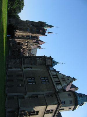 Pałac w Mosznej - od ogrodu, z północy