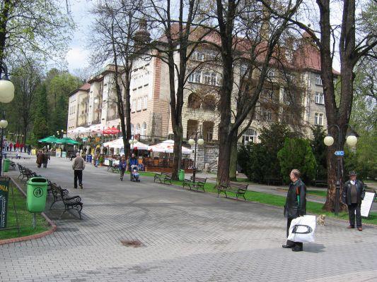 Sanatorium Wielka Pieniawa w Polanicy-Zdroju
