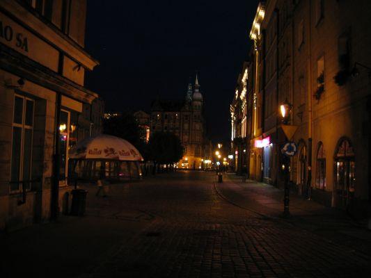 Świdnica - Rynek nocą