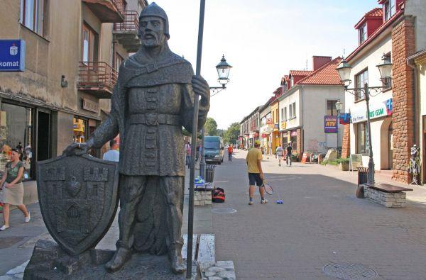 Ul. Krakowska w Olkuszu