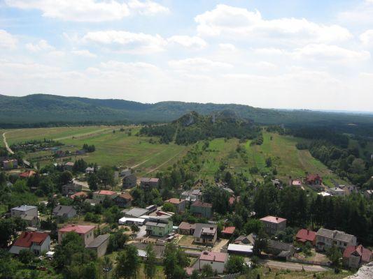 Widok z olsztyńskiego zamku