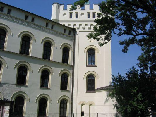 Wieża starego zamku w Żywcu 2007r