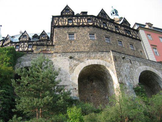 Zamek Ksiąz - widok północny