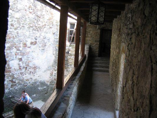 Zamek w Niedzicy - krużganki