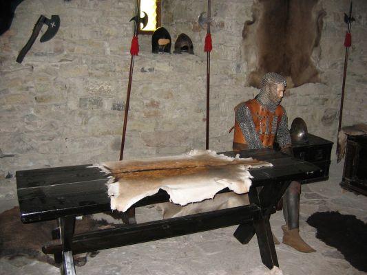 Zamek w Niedzicy - rycerz