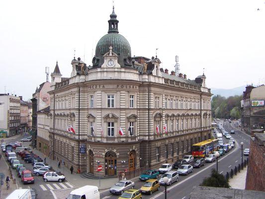 Budynek Poczty Polskiej w Bielsku-Białej