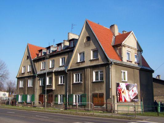 Budynek przy ul. Złotej w Katowicach - Dębie