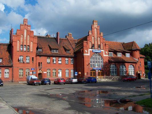 Dworzec kolejowy w Braniewie