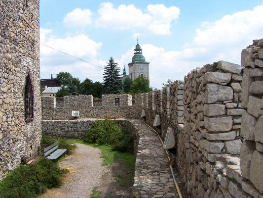 Na murach będzińskiego zamku