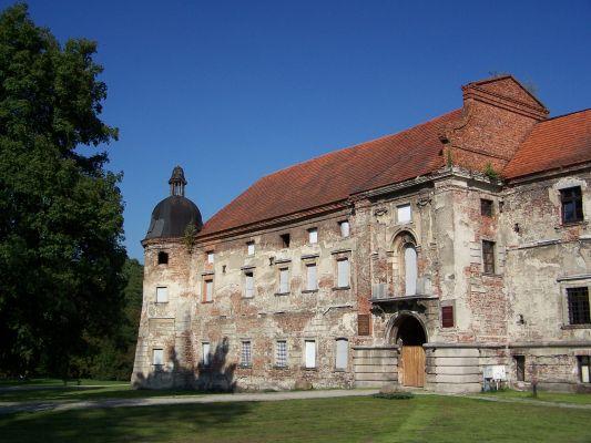 Pałac opacki w Rudach