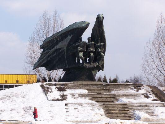 Pomnik Żołnierza Polskiego na Osiedlu Paderewskiego w Katowicach