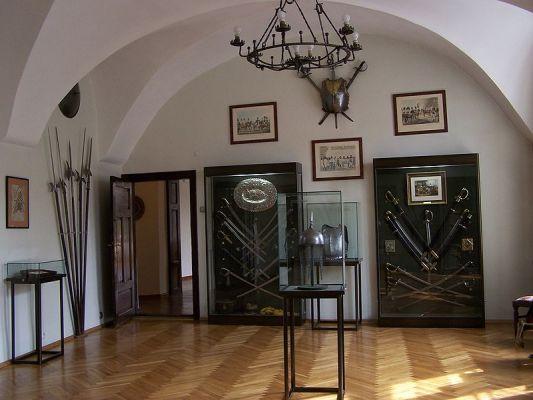 Sala militariów w Muzeum w Bielsku–Białej