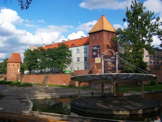 Zabudowania dawnego Colegium Hosianum w Braniewie