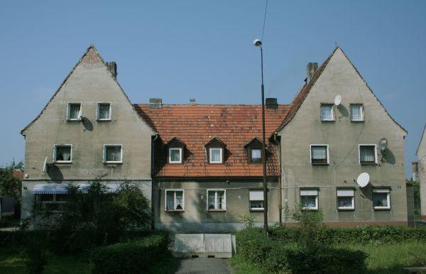 Budynek w Wilczym Gardle, dzielnicy Gliwic