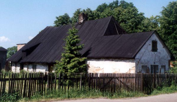 Chata z XIX wieku w dzielnicy Hajduki zburzona w 2005 roku