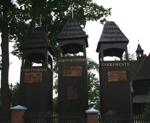 Dzwony przy sanktuarium Bożego Ciała