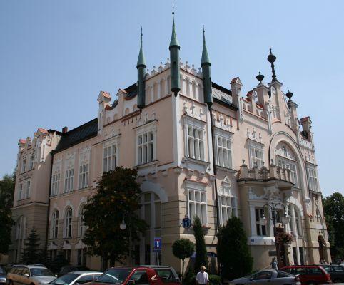Kamienica w Rzeszowie w Śródmieściu, sziedziba banku PKO BP