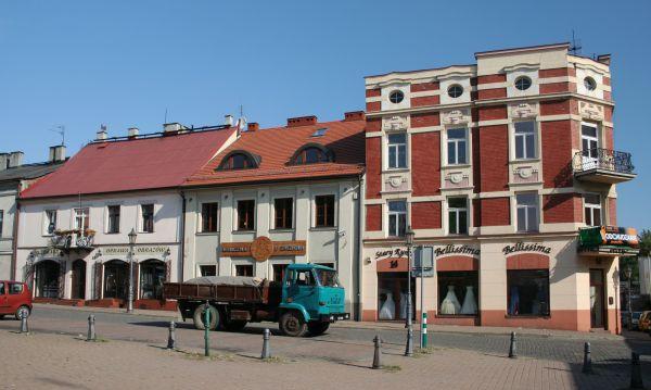 Północna pierzeja Rynku Starego w Częstochowie
