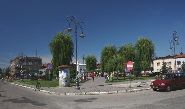 Rynek w Szczekocinach
