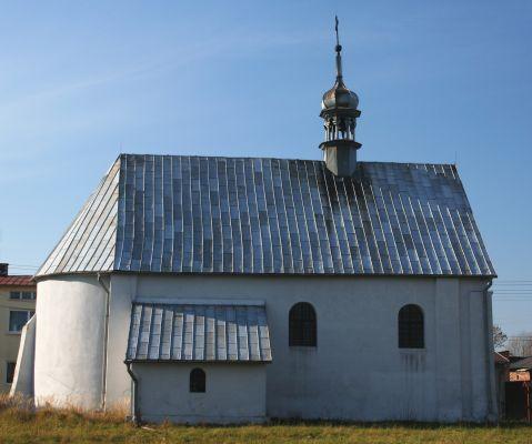 Siewierz, kościół św. Barbary i Walentego