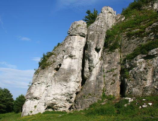 Skałki w Mirowie