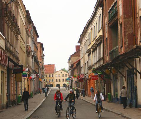 Ulica Krakowska w Tarnowskich Górach
