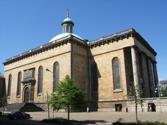Archikatedra Chrystusa Króla w Katowicach - z boku