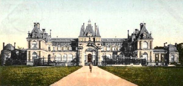 Pałac w Świerklańcu przed 1945
