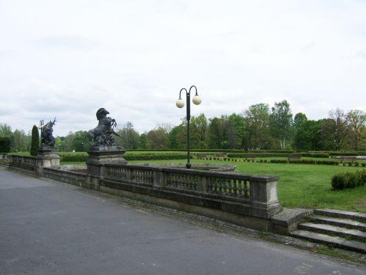 Pałac w Świerklańcu .. to samo miejsce w 2009r