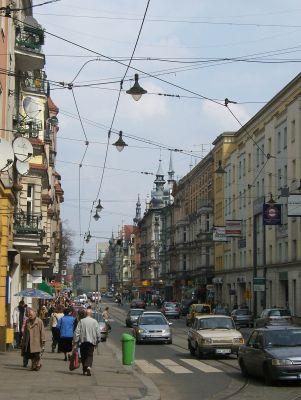 Śródmieście - Ulica Zwycięstwa