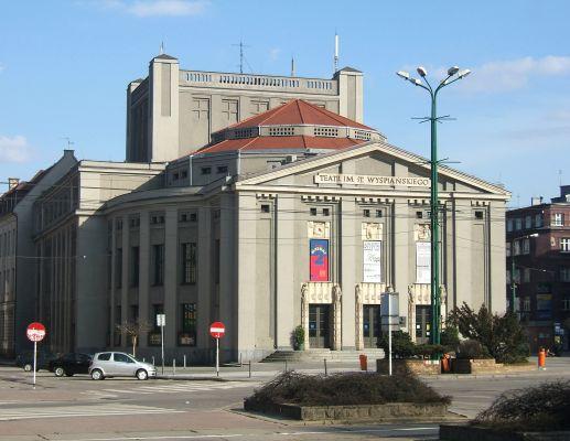 Teatr Śląski przy rynku w Katowicach