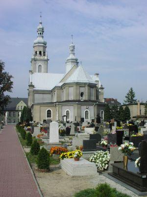 Kościół parafialny w Chełmie Śląskim