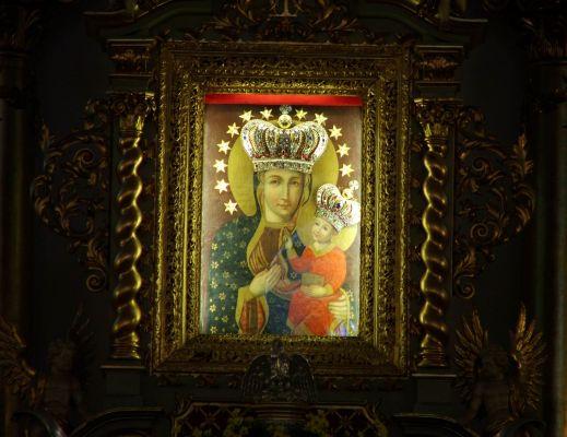 Obraz Matki Bożej Uśmiechniętej w Pszowie