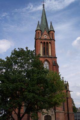 Kościół pw. św. Katarzyny Aleksandryjskiej w Kędzierzynie-Koźlu (dzielnica Sławięcice)