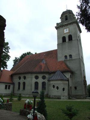 Kościół w Łomnicy