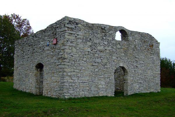Ruiny kościoła św. Stanisława koło Żarek