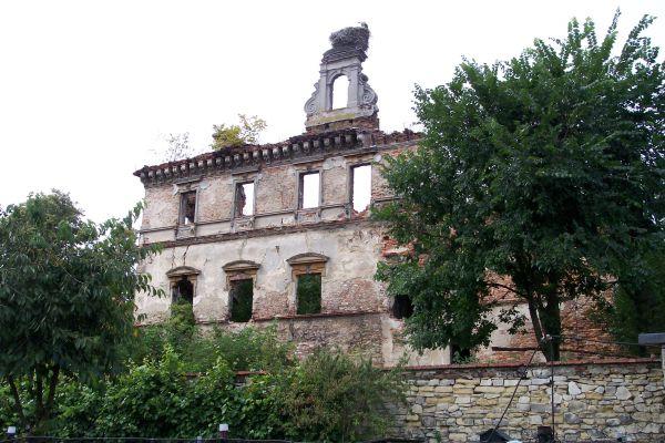 Ruiny Zamku Biskupów Wrocławskich w Ujeździe