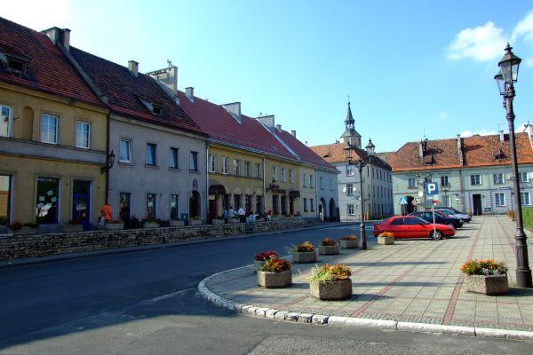 Rynek w Pyskowicach