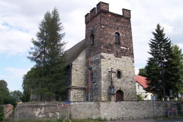 Szobiszowice - Kościół św. Bartłomieja (stary)