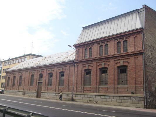 Budynek dawnej elektrowni w Bielsku-Białej