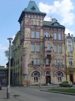 Kamienica Pod Żabami w Białej Krakowskiej