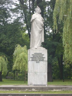 Pomnik A. Mickiewicza w Bielsku-Białej