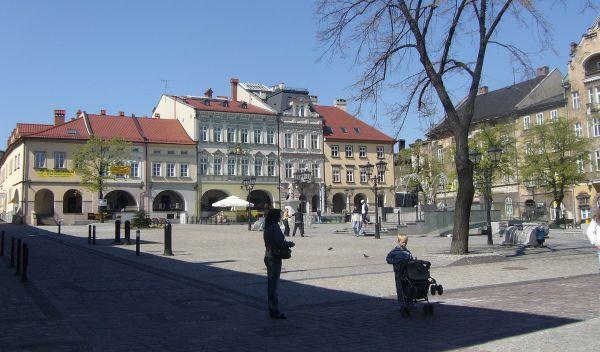 Rynek na Starym Mieście w Bielsku-Białej