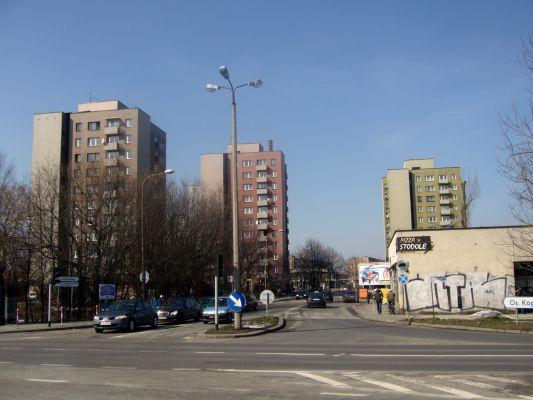 Ulica Jesionowa w Bielsku-Białej, na osiedlu Kopernika