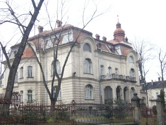 Willa Schneidera w Bielsku-Białej - Dolnym Przedmieściu