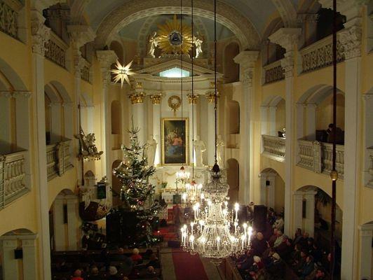Wnętrze kościoła Marcina Lutra w Bielsku-Białej